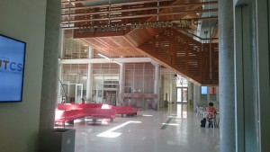 UT Austin 応用計算工学・科学大学院の校舎内2