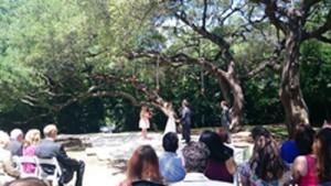 オースティンで出席した結婚式